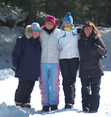 The 2011 Maine Winter Cabin Adventure was a lot of fun for all involved!